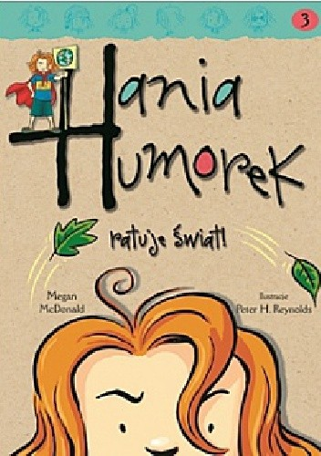 Okładka książki Hania Humorek ratuje świat