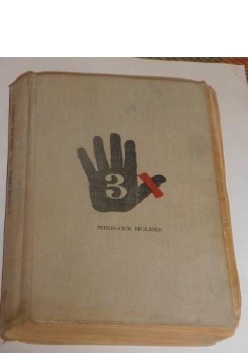 Okładka książki 3 x Sherlock Holmes