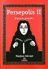 Okładka książki Persepolis. Historia powrotu