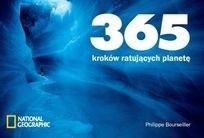 Okładka książki 365 kroków ratujących planetę