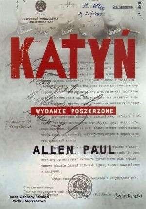 Okładka książki Katyń /Wyd.uzupełnione/