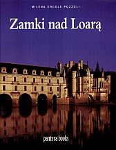 Okładka książki zamki nad Loarą