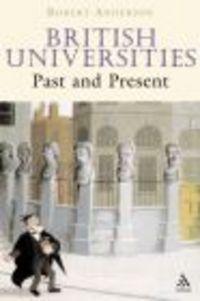 Okładka książki British Universities Past & Present