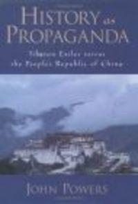 Okładka książki History as Propaganda
