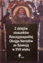 Okładka książki z dziejów stosunków Rzeczypospolitej Obojga Narodów ze Szwecją XVII wieku