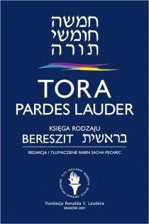 Okładka książki Tora Pardes Lauder. Bereszit - Księga Rodzaju