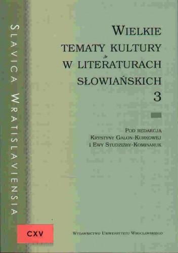 Okładka książki Slavica Wratisaviensia CXV