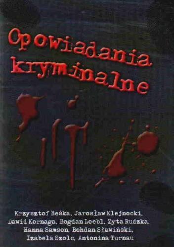 Okładka książki Opowiadania kryminalne