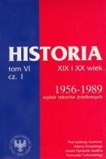 Okładka książki Historia XIX i XX wiek T.VI 1/2