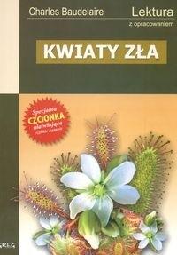 Okładka książki Kwiaty zła z opracowaniem