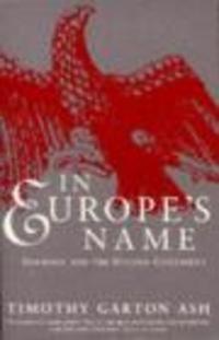 Okładka książki In Europe's Name