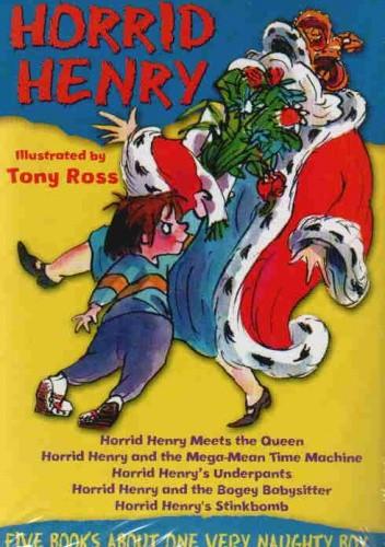 Okładka książki Horrid Henry 5 book set