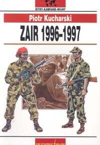Okładka książki Zair 1996-1997
