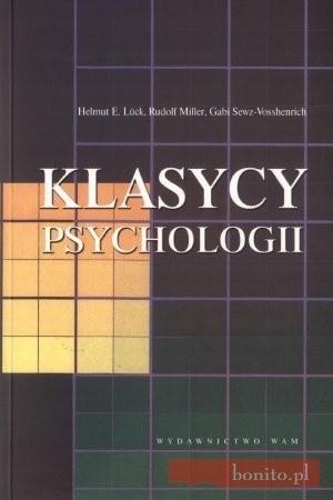 Okładka książki Klasycy psychologii