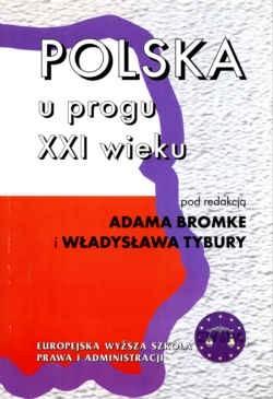 Okładka książki Polska u progu XXI wieku