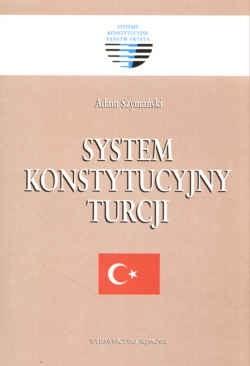 Okładka książki System konstytucyjny Turcji