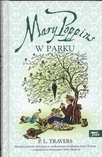 Okładka książki Mary Poppins w parku