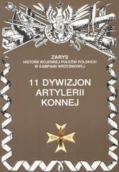 Okładka książki 11 Dywizjon Artylerii Konnej