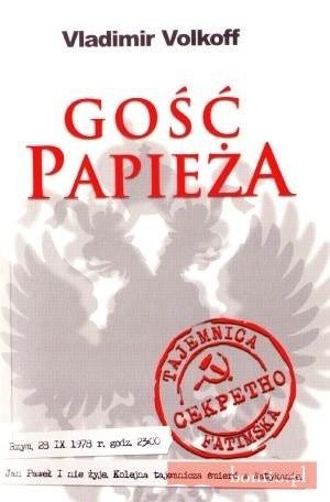 Okładka książki Gość papieża