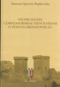 Okładka książki Włoski handel czarnoskórymi niewolnikami w późnym średniowieczu