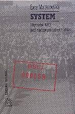 Okładka książki System. Obywatel NRD pod nadzorem tajnych służb