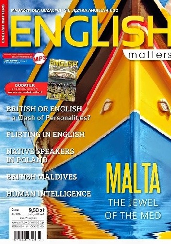 Okładka książki English Matters, 47/2014 (lipiec/sierpień)