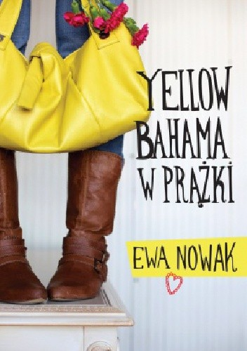 Okładka książki Yellow bahama w prążki