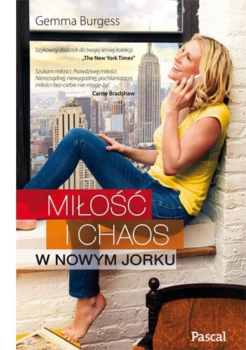 Okładka książki Miłość i chaos w Nowym Jorku