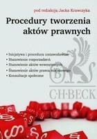 Procedury tworzenia aktów prawnych