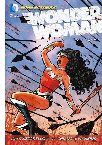 Okładka książki Wonder Woman: Krew