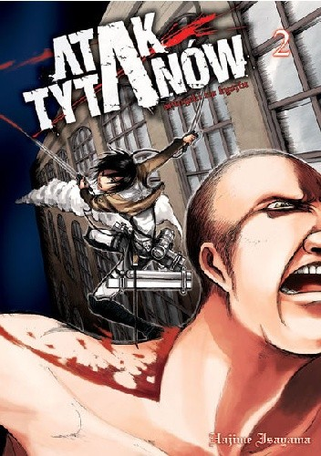 Okładka książki Atak Tytanów tom 2