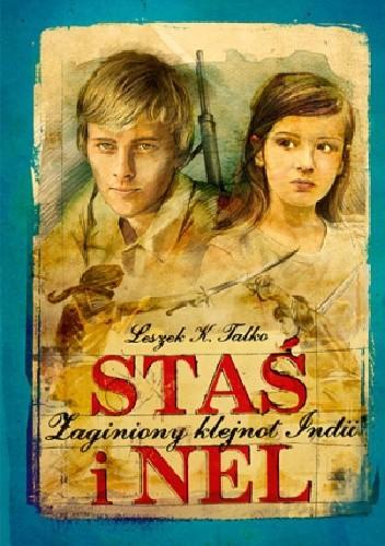 Okładka książki Staś i Nel. Zaginiony klejnot Indii