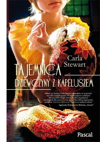 Okładka książki Tajemnica dziewczyny z kapeluszem