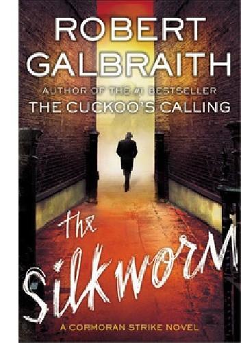 Okładka książki The Silkworm
