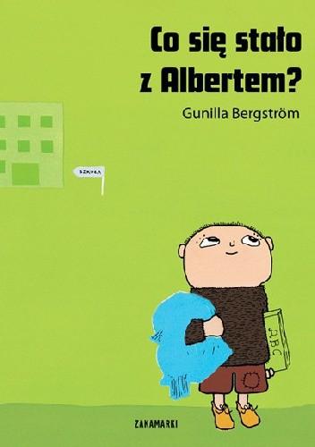 Okładka książki Co się stało z Albertem?