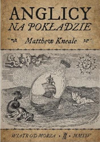 Okładka książki Anglicy na pokładzie