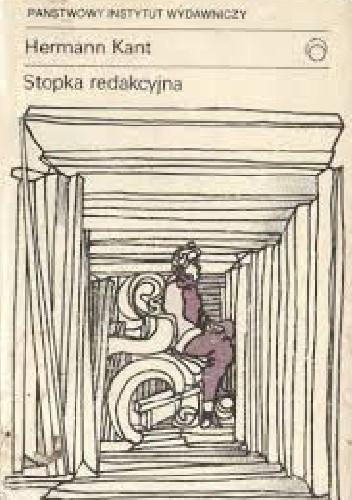 Okładka książki Stopka redakcyjna