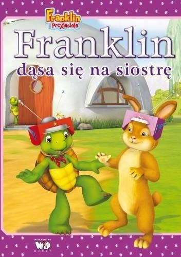Okładka książki Franklin dąsa się na siostrę