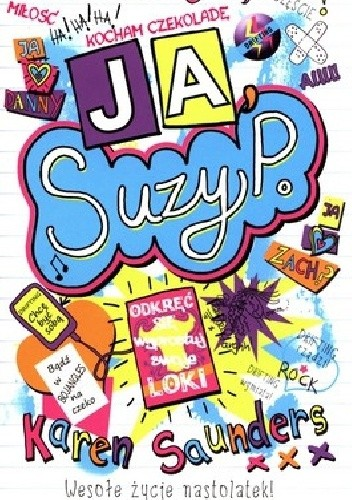Okładka książki JA, Suzy P.