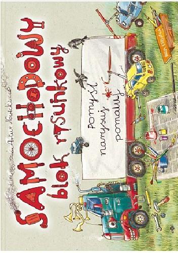 Okładka książki Samochodowy blok rysunkowy