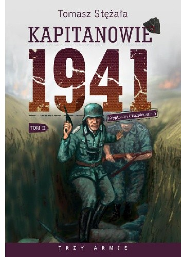 Okładka książki Kapitanowie 1941 Tom 2. Kryptonim Ubezpieczalnia