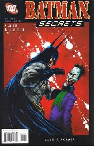 Okładka książki Batman: Secrets