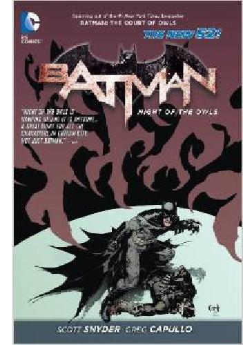 Okładka książki Batman: Night of the Owls