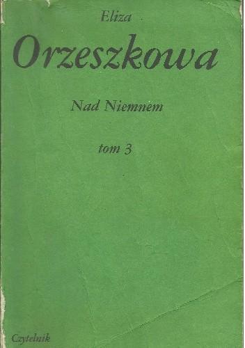 Okładka książki Nad Niemnem tom 3