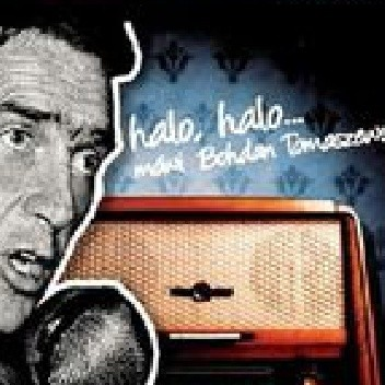 Okładka książki Halo, Halo... mówi Bohdan Tomaszewski