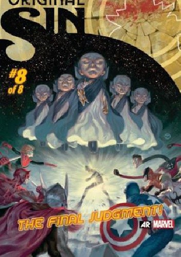 Okładka książki Original Sin 8 - The One Who Watches