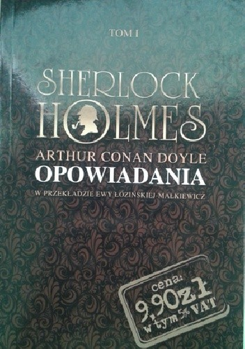 Okładka książki Sherlock Holmes. Opowiadania I