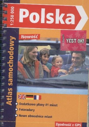 Okładka książki Polska. Atlas samochodowy
