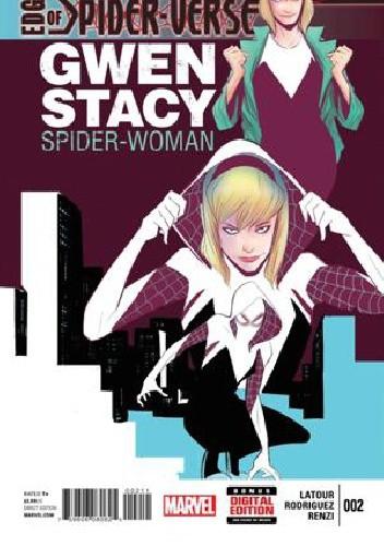 Okładka książki Edge of Spider-Verse #2 - Gwen Stacy Spider-Woman