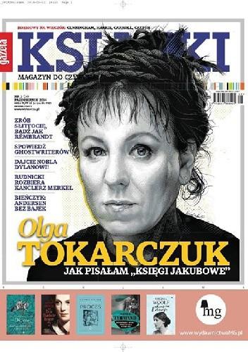 Okładka książki Książki. Magazyn do czytania, nr 3 (14) / październik 2014